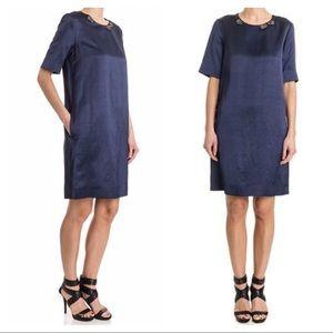 S'MaxMara embellished satin dress